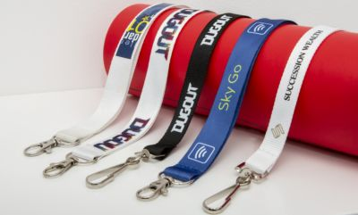 Badge straps