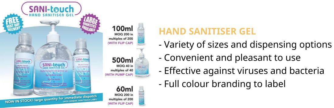 Sanitiser Gel